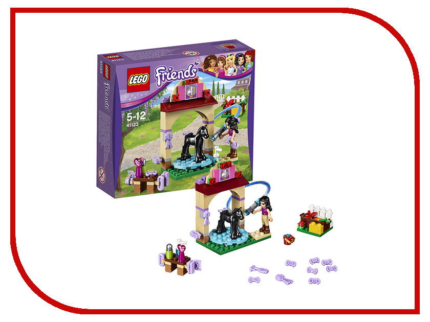 Конструктор Lego Friends Салон для жеребят 41123