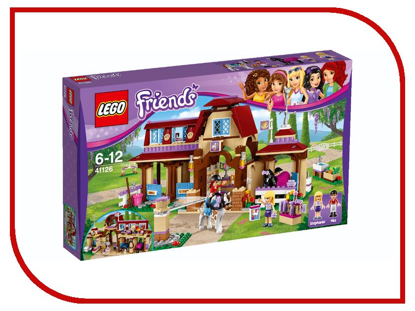Конструктор Lego Friends Клуб верховой езды 41126 lego friends 41126 лего подружки клуб верховой езды