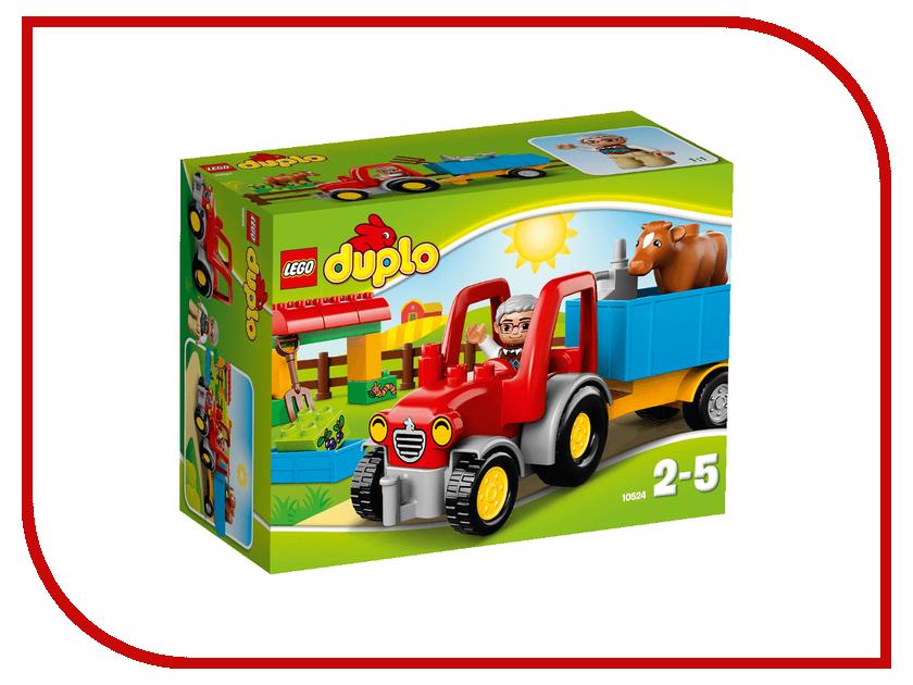 Конструктор Lego Duplo Сельскохозяйственный трактор 10524
