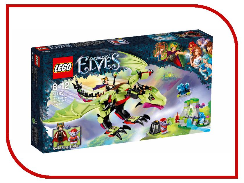 Конструктор Lego Elves Дракон Короля Гоблинов 41183 конструктор lego elves встреча наиды с гоблином воришкой 41181