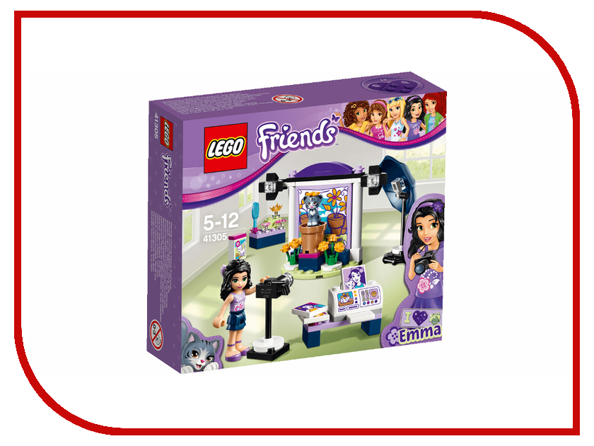 Конструктор Lego Friends Фотостудия Эммы 41305