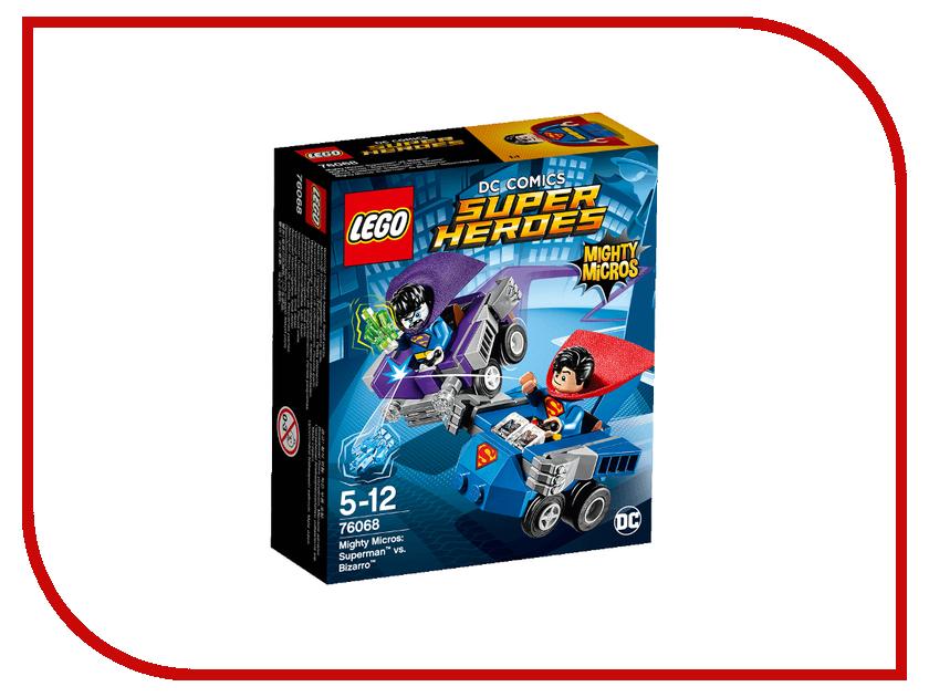 Конструктор Lego Super Heroes Супермен против Бизарро 76068 конструктор lego super heroes супермен против бизарро 76068