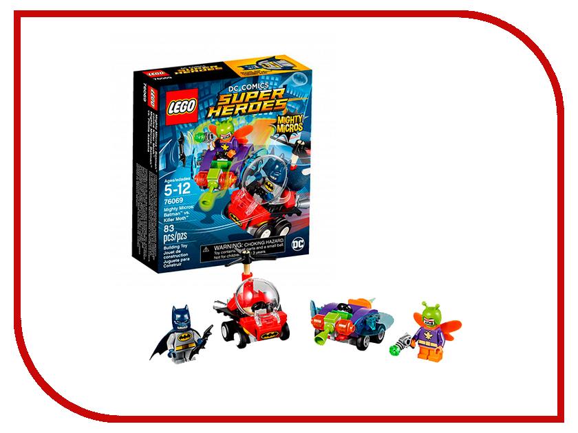 Конструктор Lego Super Heroes Бэтмен против Мотылька-убийцы 76069 конструктор lego super heroes росомаха против магнето 76073