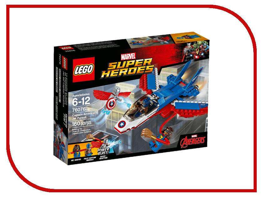Конструктор Lego Super Heroes Воздушная погоня Капитана Америка 76076 конструкторы lego lego воздушная погоня капитана америка 76076
