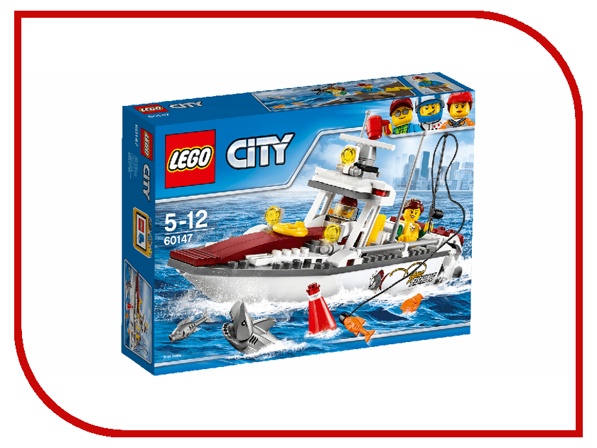 Фото Конструктор Lego City Great Vehicles Лодка рыбацкая 60147