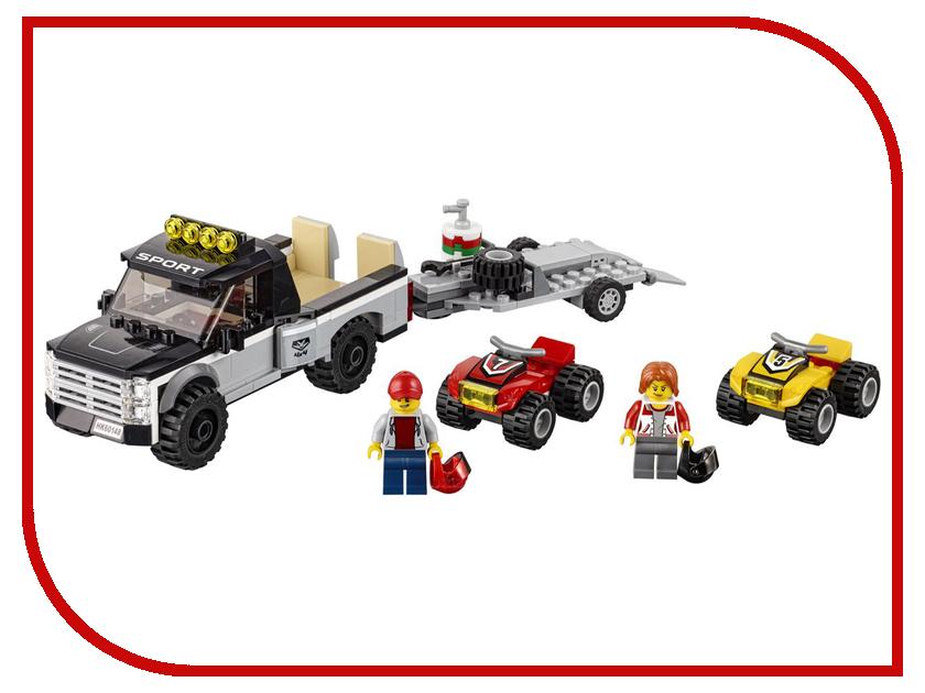 Конструктор Lego City Great Vehicles Гоночная команда 60148 конструктор lego city 60148 гоночная команда