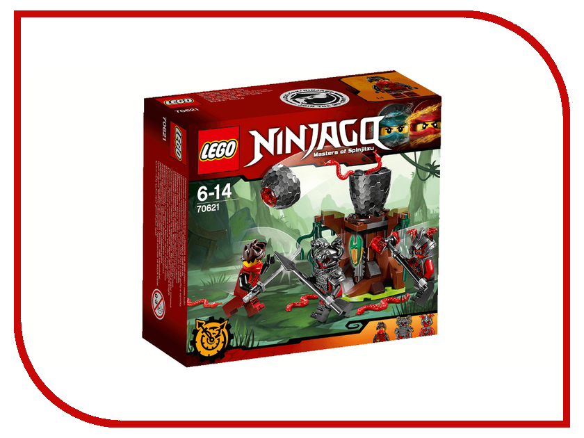 Конструктор Lego Ninjago Атака Алой армии 70621