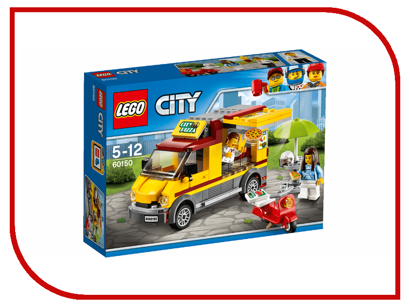 Конструктор Lego City Great Vehicles Фургон-пиццерия 60150