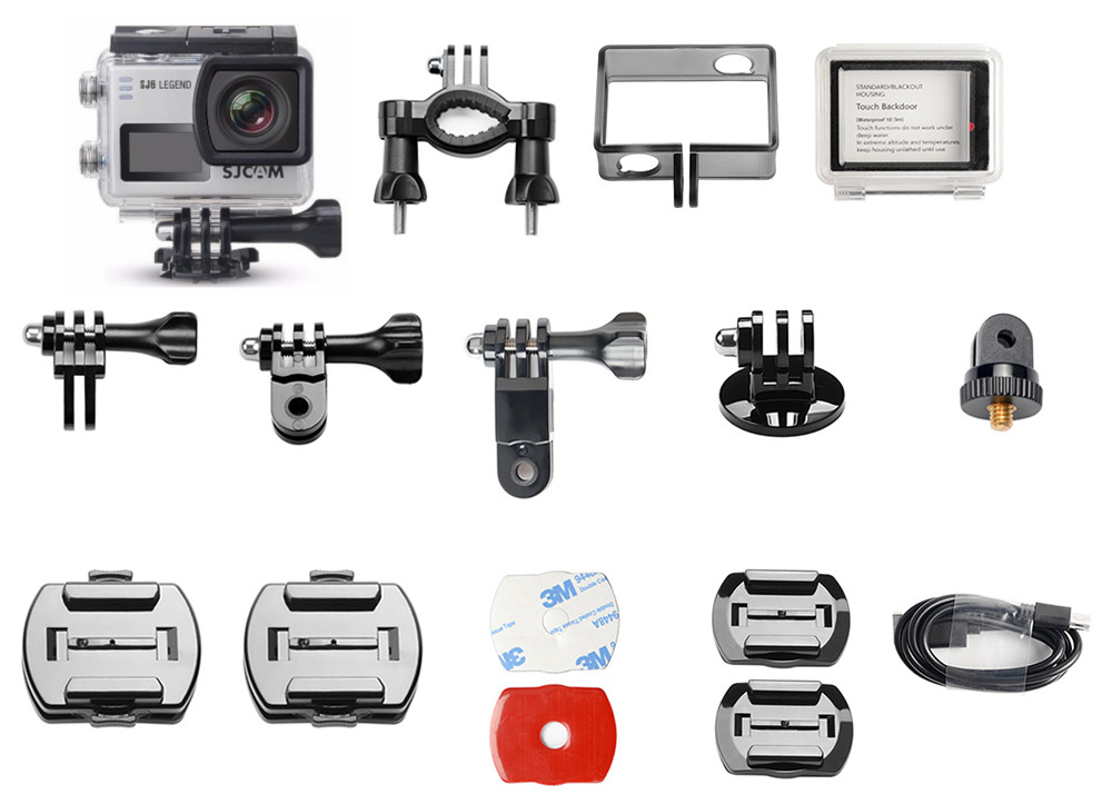 лучшая цена Экшн-камера SJCAM SJ6 Legend