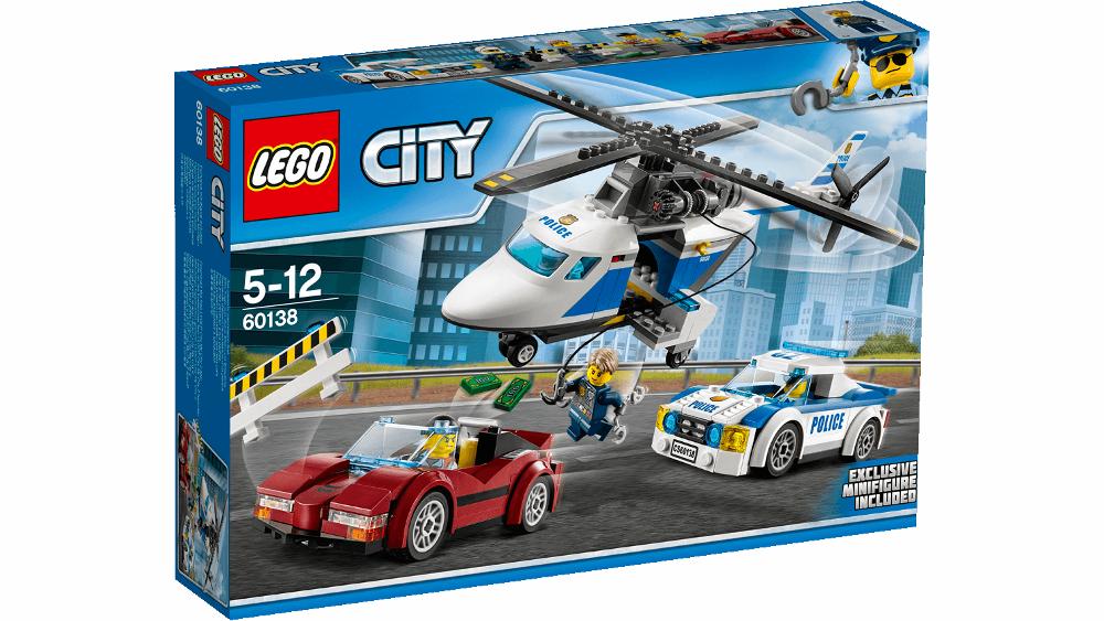 Конструктор Lego City Police Стремительная погоня 60138