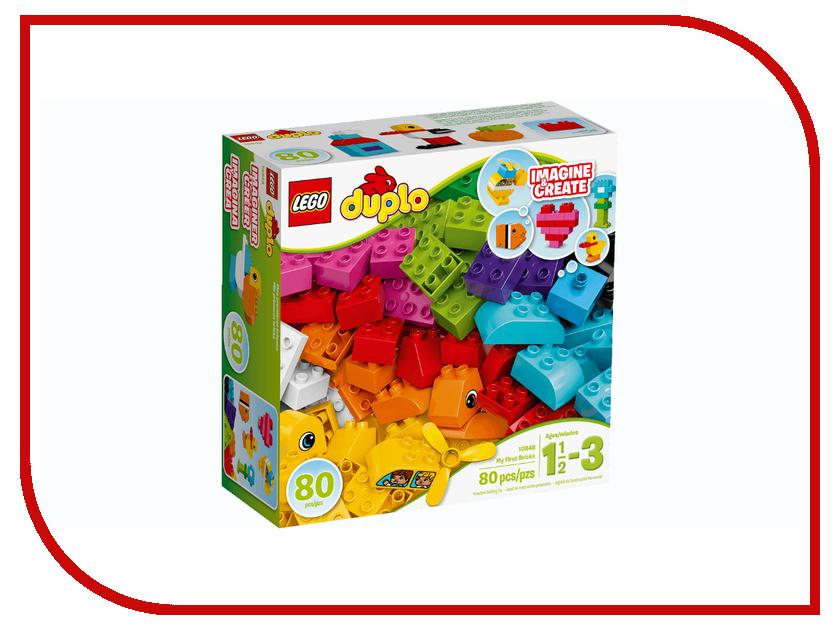 Конструктор Lego Duplo Мои первые кубики 10848