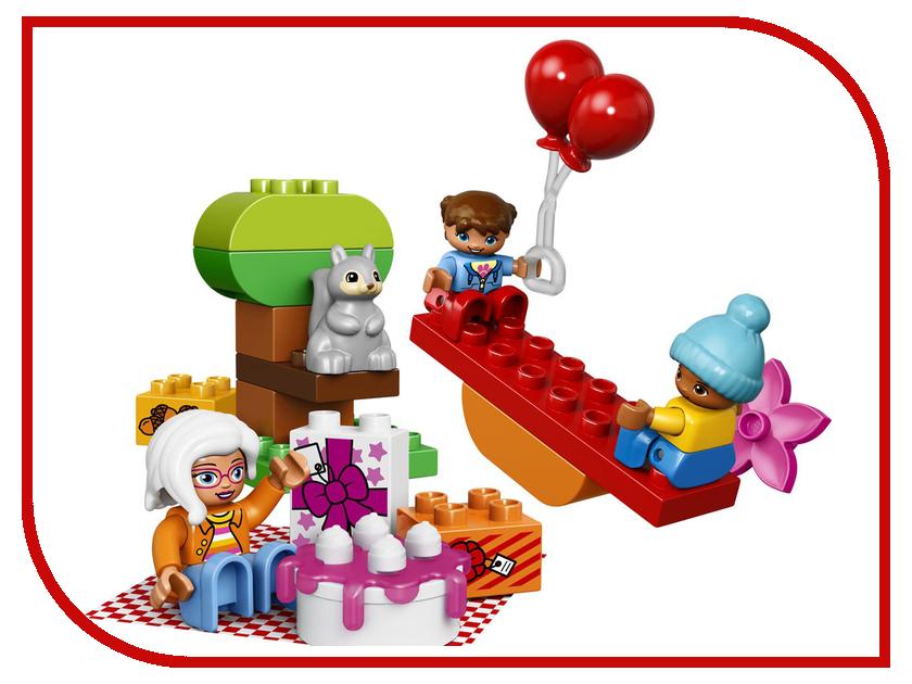 Конструктор Lego Duplo День рождения 10832 lego friends конструктор день рождения салон красоты 41114