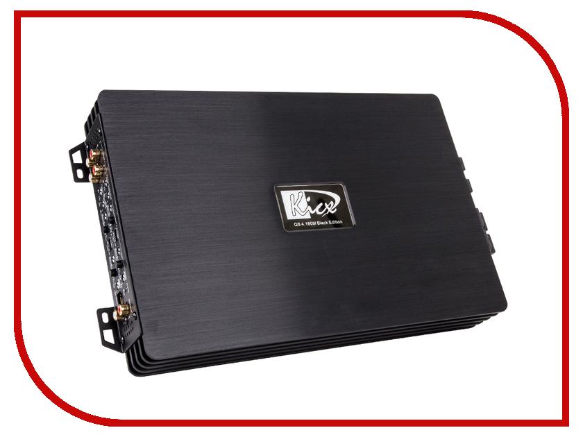 Усилитель Kicx QS 4.160M Black Edition