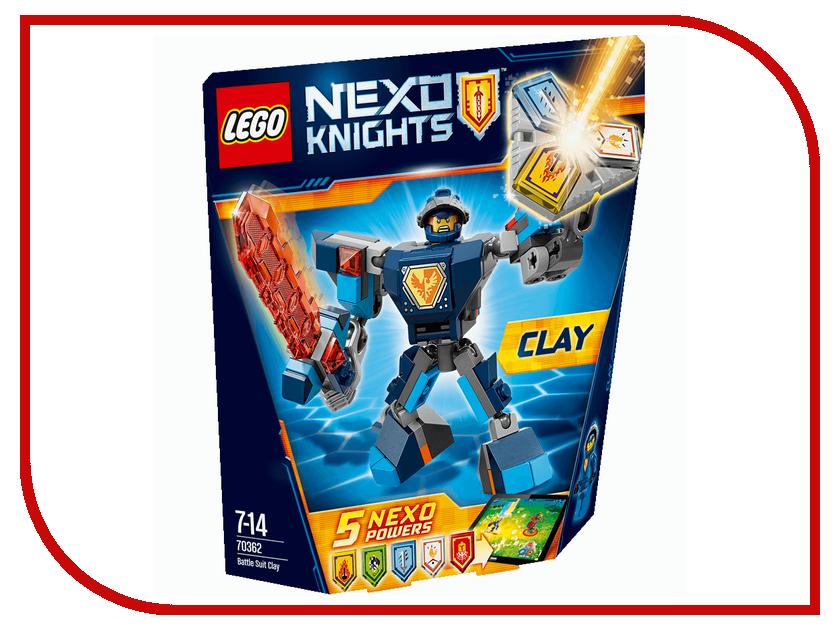 Конструктор Lego Nexo Knights Боевые доспехи Клэя 70362 бакуган 3 сезон доспехи airkor
