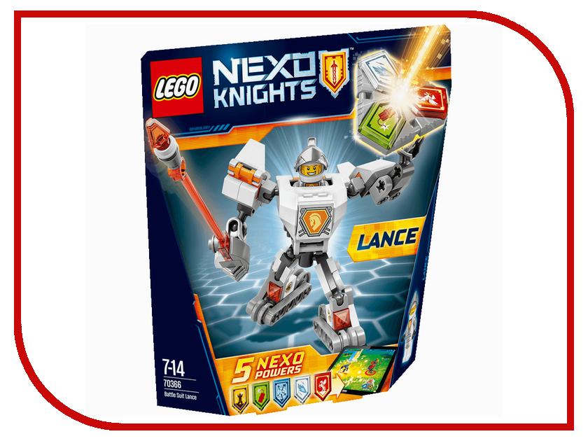 Конструктор Lego Nexo Knights Боевые доспехи Ланса 70366 аксессуар clicktronic toslink toslink casual 1m 70366