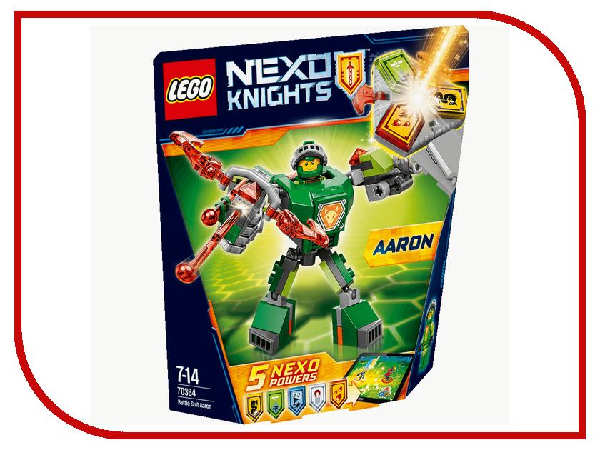 Конструктор Lego Nexo Knights Боевые доспехи Аарона 70364