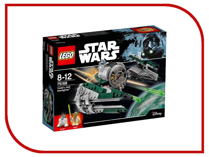 Конструктор Lego Star Wars Звёздный истребитель Йоды 75168 конструктор lego star wars звёздный истребитель типа y 75172