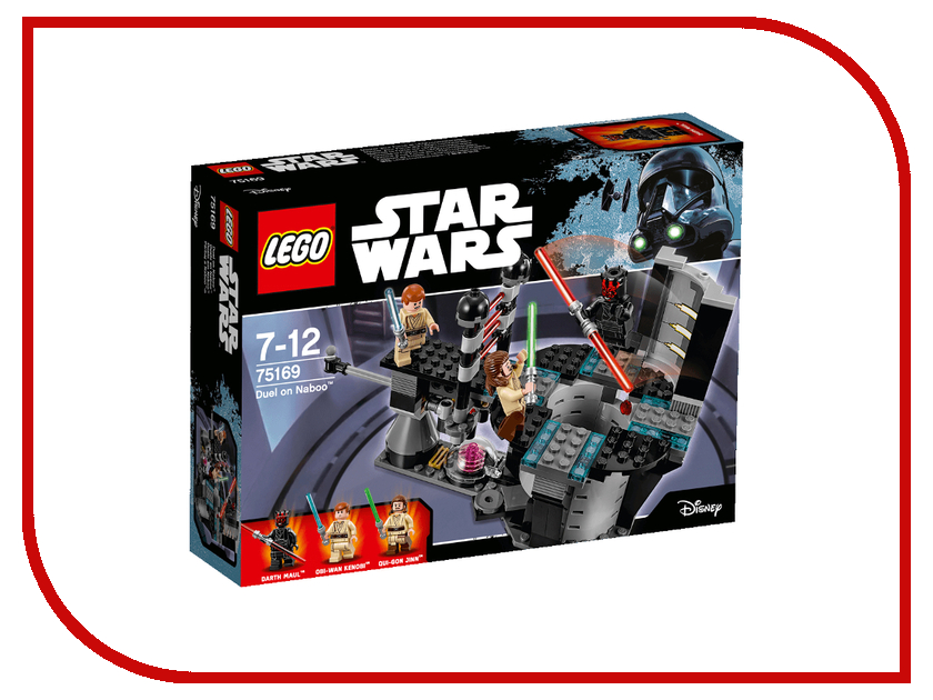 Конструктор Lego Star Wars Дуэль на Набу 75169 конструктор lego 41308 кондитерская стефани