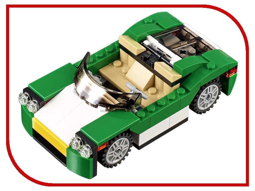Конструктор Lego Creator Кабриолет зелёный 31056