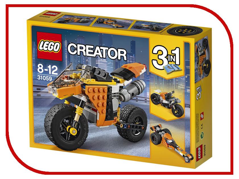Конструктор Lego Creator Мотоцикл оранжевый 31059 lego creator конструктор летающий робот 31034
