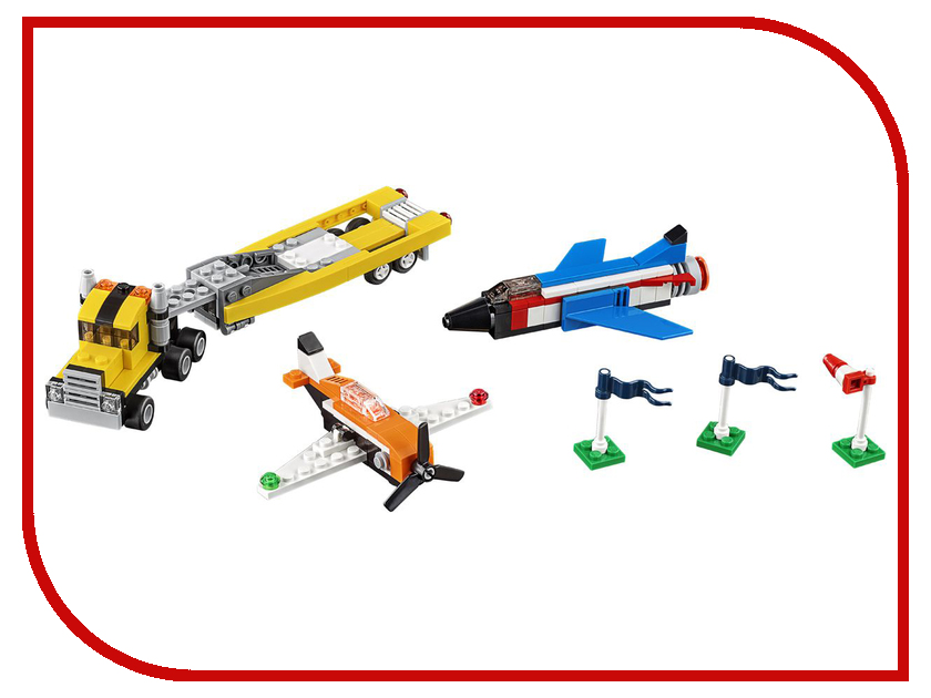 Конструктор Lego Creator Пилотажная группа 31060 конструктор lego 41308 кондитерская стефани