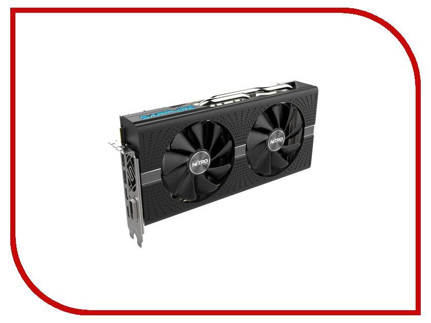 Видеокарта Sapphire Nitro+ Radeon RX 580 8GD5 1411Mhz PCI-E 3.0 8192Mb 8000Mhz 256 bit DVI 2xHDMI 11265-01-20G видеокарта sapphire nitro radeon rx 580 1430mhz pci e 3 0 8192mb 8400mhz 256 bit dvi hdmi hdcp 11265 21 20g