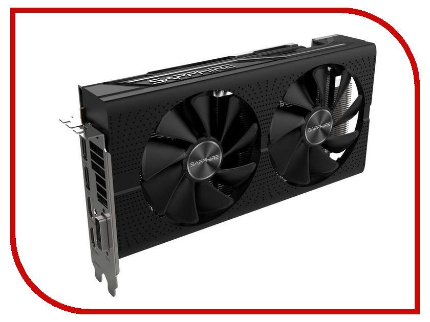 Видеокарта Sapphire Pulse Radeon RX 580 8GD5 1366Mhz PCI-E 3.0 8192Mb 8000Mhz 256 bit DVI 2xHDMI 11265-05-20G видеокарта sapphire 21275 02 20g