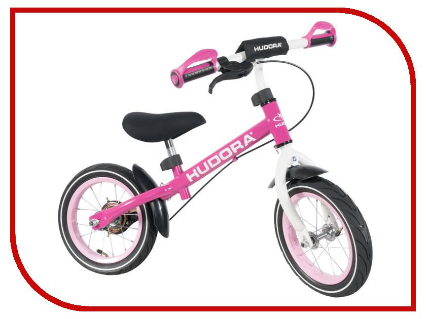 Беговел Hudora Laufrad Ratzfratz Air 12 Pink