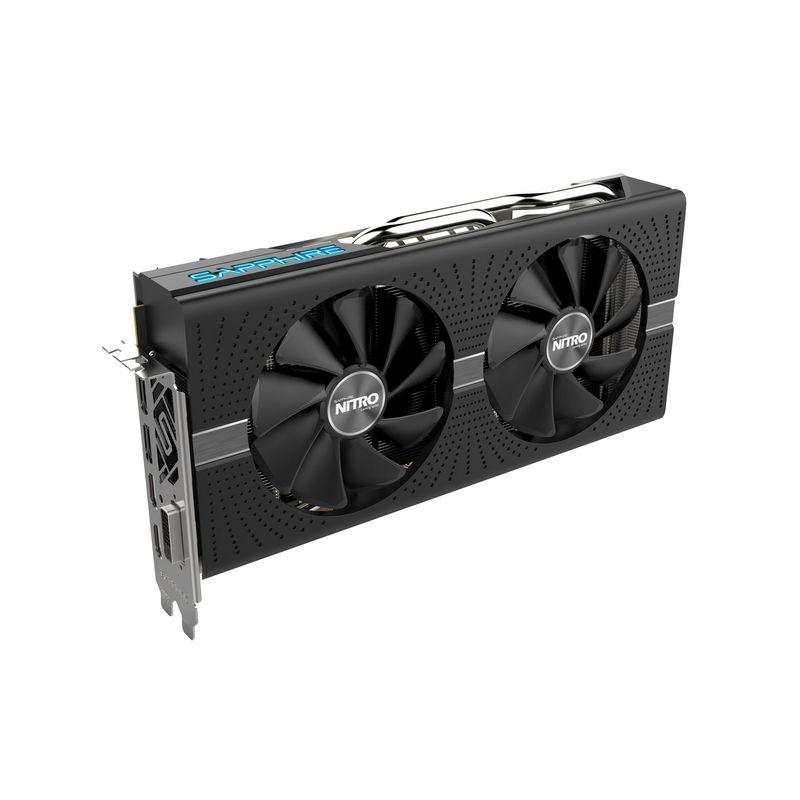 Видеокарта Sapphire Nitro+ Radeon RX 570 8GD5 1340Mhz PCI-E 3.0 8192Mb 7000Mhz 256 bit DVI 2xHDMI 11266-09-20G недорого