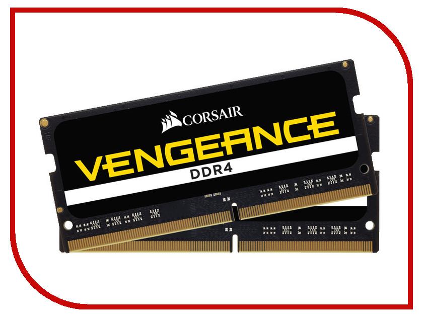 все цены на Модуль памяти Corsair Vengeance DDR4 SO-DIMM 2666MHz PC4-21300 CL18 - 32Gb KIT (2x16Gb) CMSX32GX4M2A2666C18 онлайн