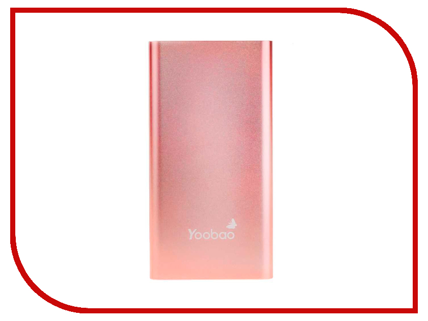 Аккумулятор Yoobao Power Bank PL10 Air 10000mAh Rose Gold