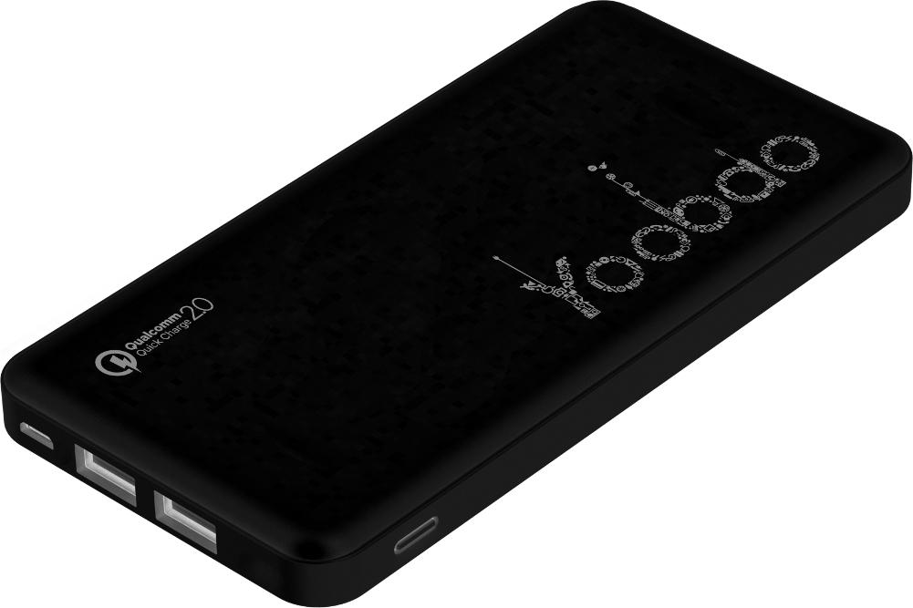 Аккумулятор Yoobao PL12 QC 12000mAh Black
