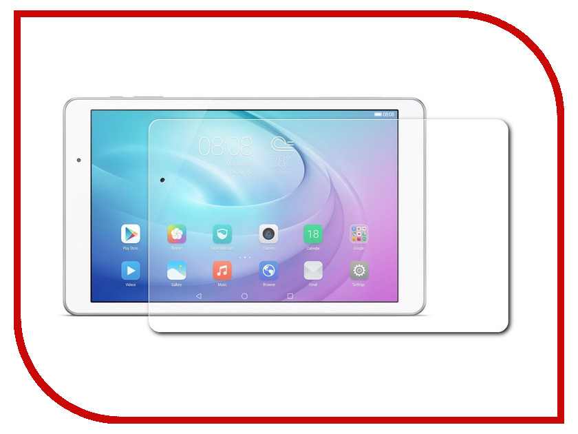 Аксессуар Защитное стекло Huawei MediaPad T2 10.0 Pro Partson G-007