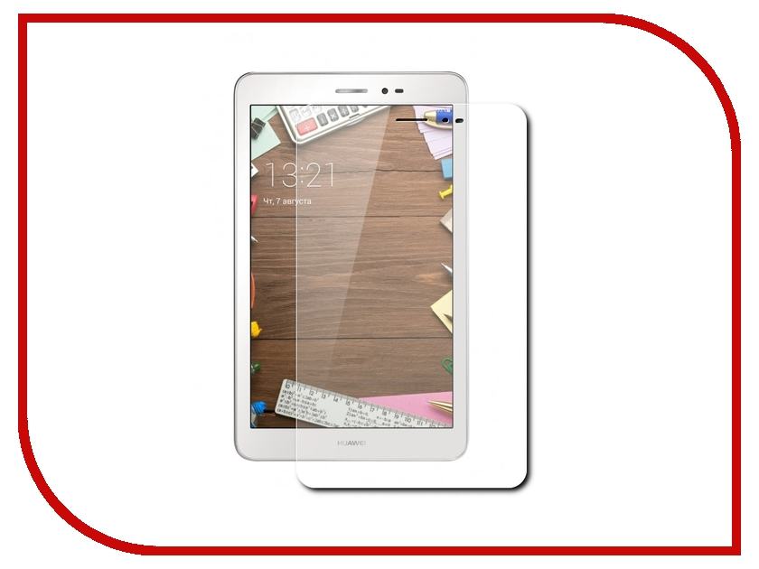 Аксессуар Защитное стекло Huawei MediaPad T1 8.0 Partson G-005<br>