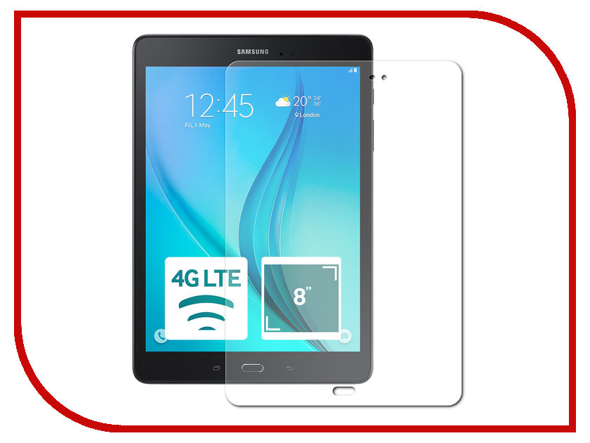Аксессуар Чехол Samsung Galaxy Tab A 7.0 Partson Black T-048
