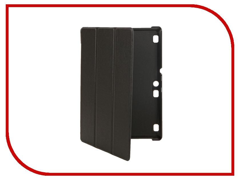 Аксессуар Чехол Lenovo Tab 3 X30L/X70L 10.0 Partson Black T-046 аксессуар чехол lenovo tab 3 x30l x70l 10 0 cross case el 4021 blue