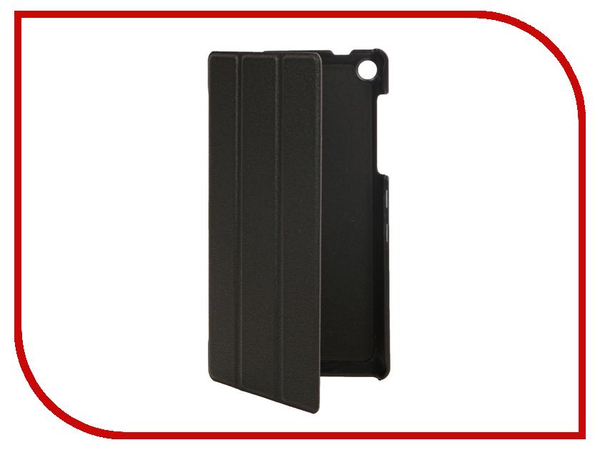 Аксессуар Чехол Lenovo Tab 3 730X 7.0 Partson Black T-040