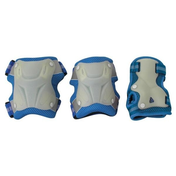 Комплект защиты Спортивная Коллекция Neon Pad M Blue цена