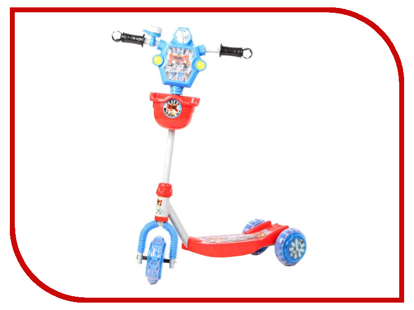 Самокат Leader Kids XG5307B1 Blue-Red самокат leader kids gs d12 red