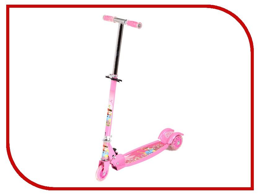 Самокат Leader Kids JC-640 Pink