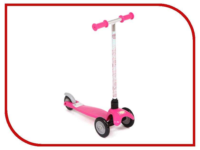 Самокат Leader Kids W-02D4 Pink