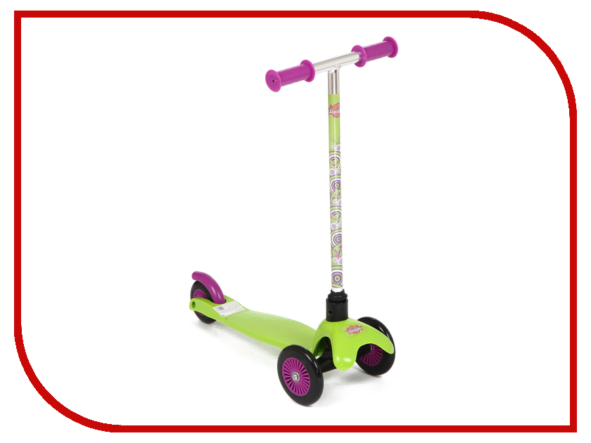 Самокат Leader Kids W-02D4 Green статус что это