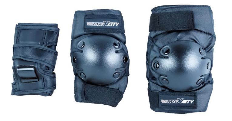 Комплект защиты Maxcity Classic M Black