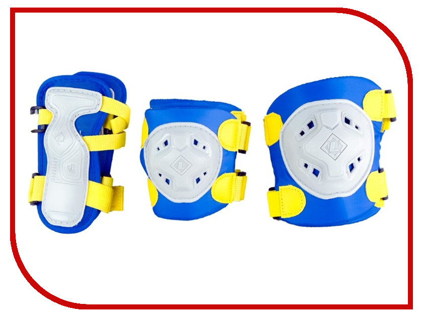 Комплект защиты Maxcity Game S Blue самокат maxcity mc fusion