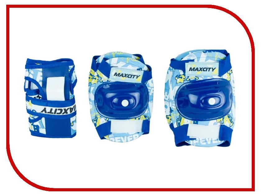 Комплект защиты Maxcity Teddy M Blue комплект защиты maxcity standard m