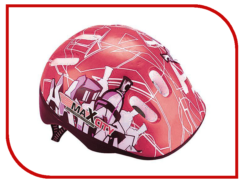 Шлем Maxcity Baby City S Red