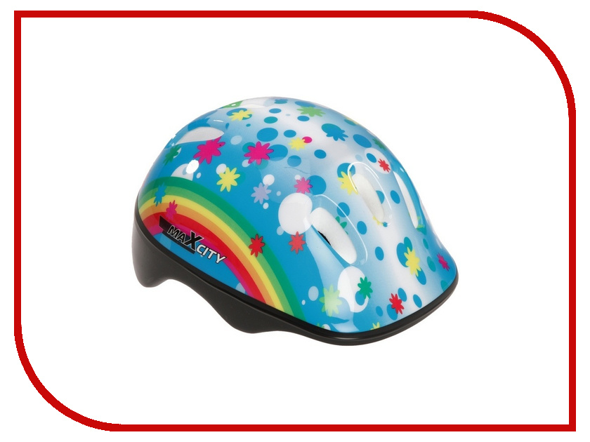 Шлем Maxcity Baby S Rainbow