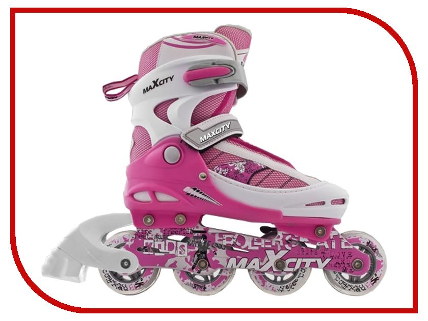 Коньки Maxcity Symbol 32-35 Pink<br>