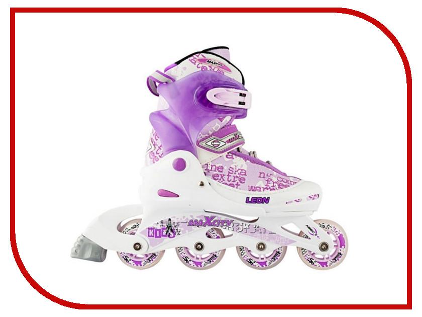 Коньки Maxcity Leon 30-33 Violet