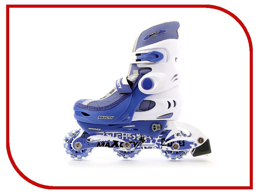 Коньки Maxcity Winner 26-29 Light Blue коньки onlitop abec 7 223f р 29 32 blue 1131909